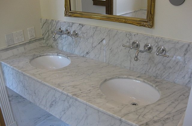 Marble Bathroom Countertops - Give your bathroom a modern look